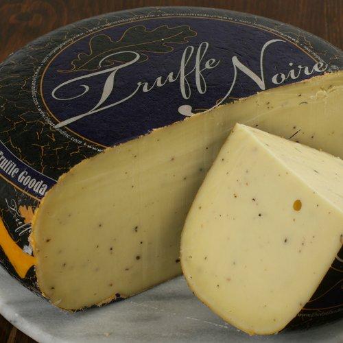 Truffle Noire Gouda (8 ounce) by igourmet