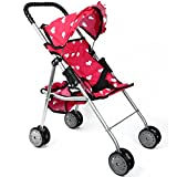 The New York Doll Collection My First Doll Stroller - Hearts