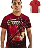 "DETHRONE ROYALTY BRAND NEW ""AZTEC TEMPLE"" MMA SHIRT SIZE MEDIUM"