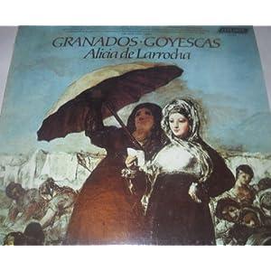 Granados Alicia De Larrocha Goyescas El Pelele Escenas Romanticas