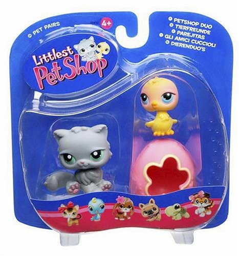 Buy Low Price Hasbro Littlest Pet Shop Pet Pairs Figures Kitty with Chick & Egg (B000EQIE5S)
