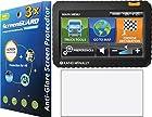 GuarmorShield 3x Rand McNally IntelliRoute TND 700 710 720 730 LM Truck GPS Premium Anti-Glare Anti-Fingerprint Matte Finishing LCD Screen Protector Cover Guard Shield Protective Film Kits (NO Cutting, Package by GUARMOR)