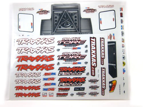 Traxxas 6813 Decal Sheet, Slash 4x4