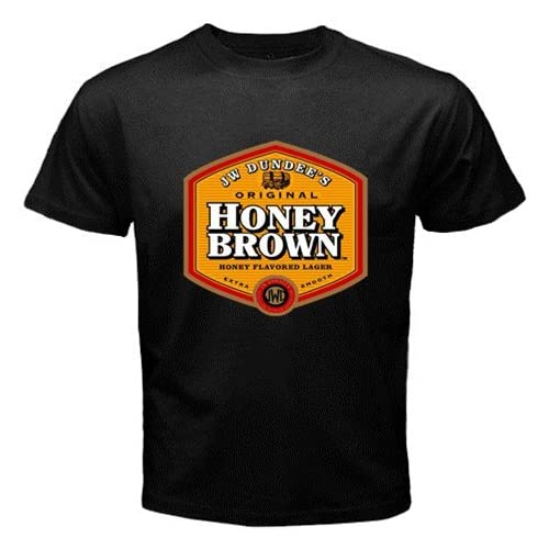 "Amazon.com: Honey Brown Beer Logo New Black T-shirt Size ""3XL"