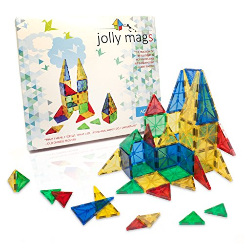 Jolly Mags: 32 Pcs Set, Clear Color Magnetic
