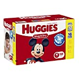 Huggies Snug and Dry Diapers, Size 4, 156 Count