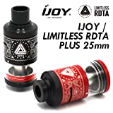 【RTA】 IJOY / LIMITLESS RDTA PLUS 【ICE VAPEアトマイザースタンドセット】 (RED)