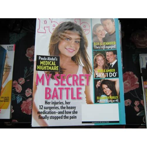 People Weekly Magazine   2 May 2005   Paula Abdul Cover My Secret