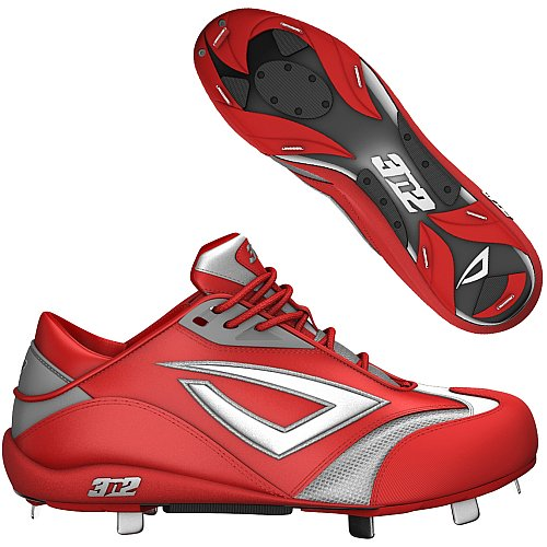 3N2 Accererate Fastpitch Metal Softball Cleat