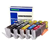 ink4work Set of 5 PACK PGI-250XL & CL-251XL Compatible Ink Cartridge for Pixma IP7220, MG5420, MG6320, MX722, MX922