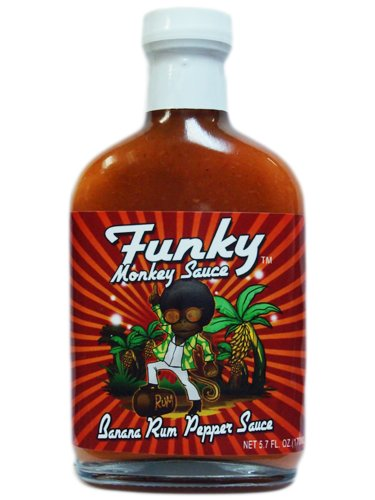 Funky Monkey Banana Rum Pepper Sauce (Funky Monkey Hot Sauce compare prices)