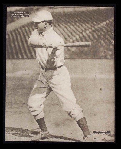 M101-2 Sporting News Supplements December 2 1909 Tris Speaker Red Sox (Card) # 21 Dean'S Cards 3 - Vg