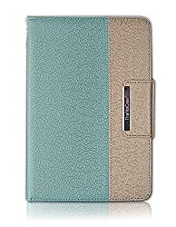 iPad Pro Case, Thankscase Business Rotating Case Cover For iPad Pro 12.9 Inch 2015 Release, Swivel Case Build-in Pencil Holder and Wallet Pocket and Hand Strap for iPad Pro. (Gold Jade)