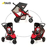 Hauck Freerider in Line Tandem Double Buggy (Red)