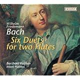 Wilhelm friedemann bach six duos pour deux flutes