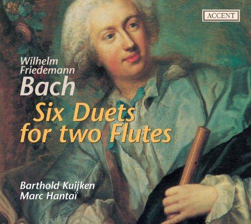 Wilhelm Friedemann Bach : Six Duos Pour Deux Flutes