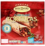 Discovery Plain Flour Tortillas 320 g (Pack of 6)