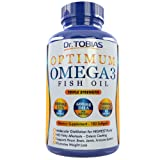 Omega 3 Fish Oil Pills (180 Counts) - Triple Strength Fish Oil Supplement (1,400mg Omega 3 Fatty Acids: 600mg DHA + 800 mg EPA per Serving) - Burpless Capsules with Enteric Coating And Pharmaceutical Grade Essential Fatty Acids - Molecularly Distilled Fish Oil Supplements Including Best Health Bonus (Online Videos With Health-Supporting Exercises)