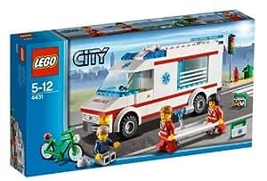 Lego City - 4431 - Jeu de Construction - L'Ambulance