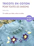Tricots en coton pour toutes saisons