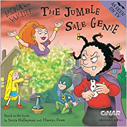 Mona the Vampire and the Jumble Sale Genie Paperback – May 10, 2001