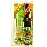 Bier Geschenk zum 28.Geburtstag Geburtstagsgeschenk achtundzwanzigster Geburtstag Bier Geschenkset zum 28. Geburtstag