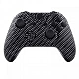 Designer Hydro Dipped Black Carbon Fiber Replacement Controller Shell And Button Kit For Xbox One