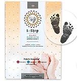 """MAGISCHES BABY ABDRUCKSET - ohne Farbe, ohne Gips, direkt auf beschichtetem Papier - von """"Baby's 1st Step"""""""