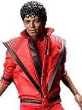 コスプレ衣装♪マイケル・ジャクソン風「スリラー」版 Michael Jackson Thriller MTV版 革の服 男性Lサイズ コスチューム、コスプレ