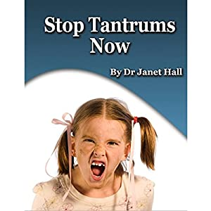 Stop Tantrums Now Speech