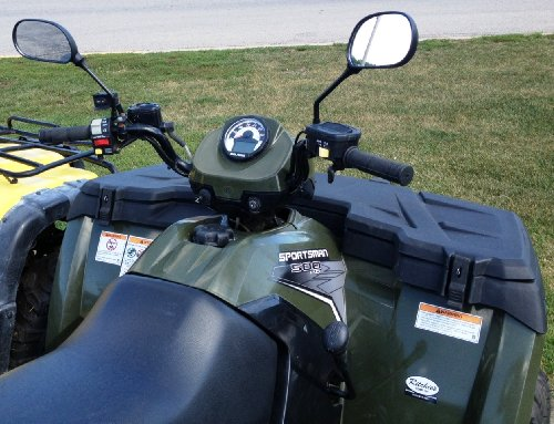 Rearview Mirror Set Universal for ATVs