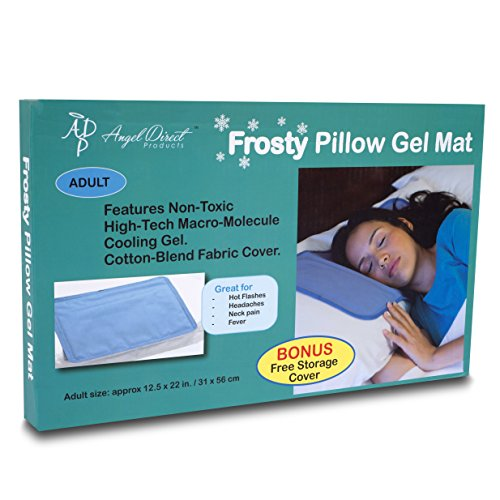 Frosty Cooling Pillow Gel Mat Storage Cover Best Cold