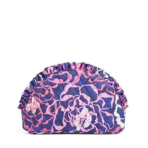 Vera Bradley Large Ruffle Cosmetic Bag - Katalina Pink