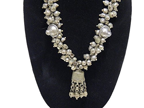 [Ethnic Tribal Belly Dance Necklace - Beautiful Vintage Handmade Indian Jewelry] (Banjara Dance Costumes)