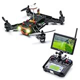 Eachine Racer 250 FPV Quadcopter Drone with HD Camera Eachine I6 2.4G 6CH Transmitter 7 Inch 32CH Monitor RTF Mode 2 [並行輸入品]
