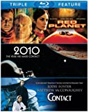 Red Planet / 2010 / Contact (Triple-Feature) [Blu-ray]