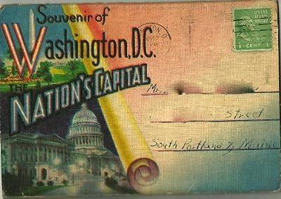 Washington Dc, Souvenir Of Nation's Capital