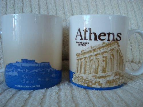 Starbucks Coffee Global Series City Mug - ATHENS (Greece) (Starbucks Classic Mug compare prices)