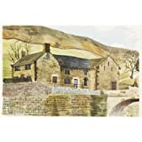Bridge End Farm, Derwent Village, by Kenneth Rowntree (V&A Custom Print)