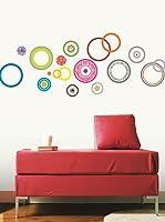 Ambiance Sticker Vinilo Decorativo Colorful Bubbles