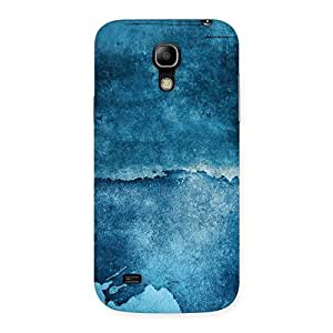 Special Blue Paint Print Back Case Cover for Galaxy S4 Mini