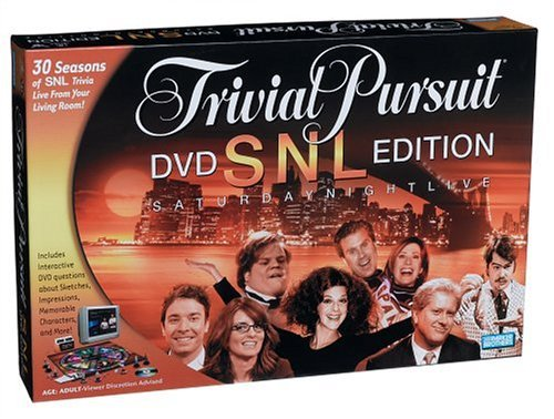 Trivial Pursuit Snl Dvd Edition