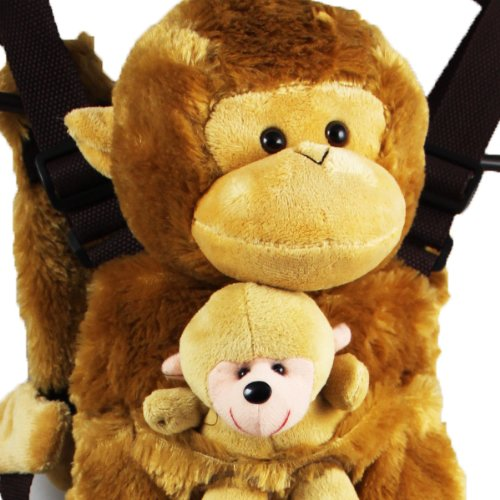 Cuffu Monkey STUFFED ANIMAL for Children , Perfect Gift Idea