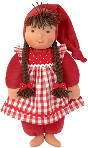 Kathe Kruse - Waldorf Schatzi Plush Doll, Red