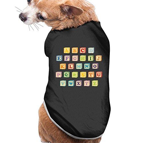 Toy Bricks Alphabet Beautiful Art Large Dogs Clothing Medium Dog Costumes Dog Clothes (Hundreds Chart Manipulative compare prices)