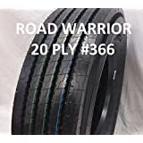 (2-Tires) ROAD WARRIOR 315/80R22.5 L/20 157/154M- Steer All Position Truck Tire 31580225