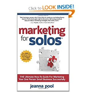 Marketing for Solos - Jeanna Pool