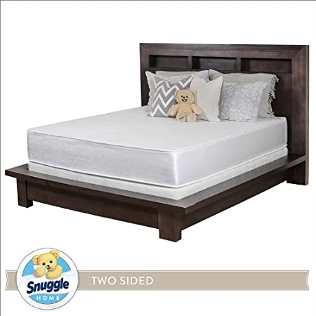 Snuggle Home 10 Inch Foam Two Sided Mattress TWIN XL