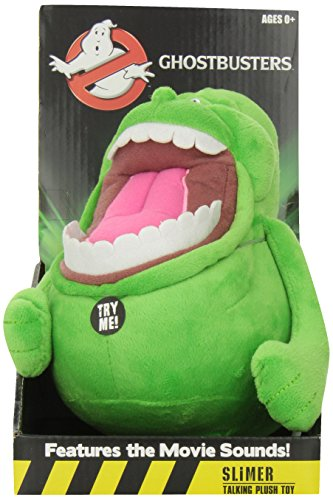 "Underground Toys Talking Slimer Plush, 9"""