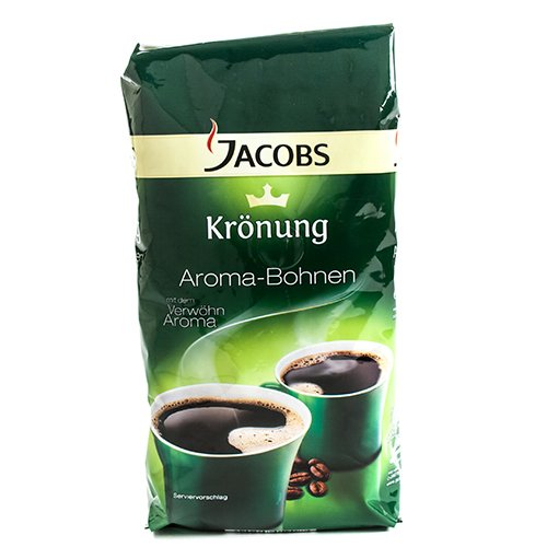 Jacobs Kronung Whole Bean Coffee - 500g (1.1 pound) (Jacobs Coffee Whole Bean compare prices)